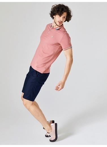 Xint Polo Yaka Tişört Pembe